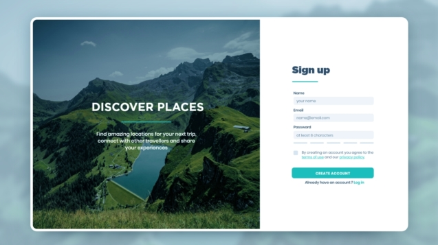 01 - Sign Up - Dribbble