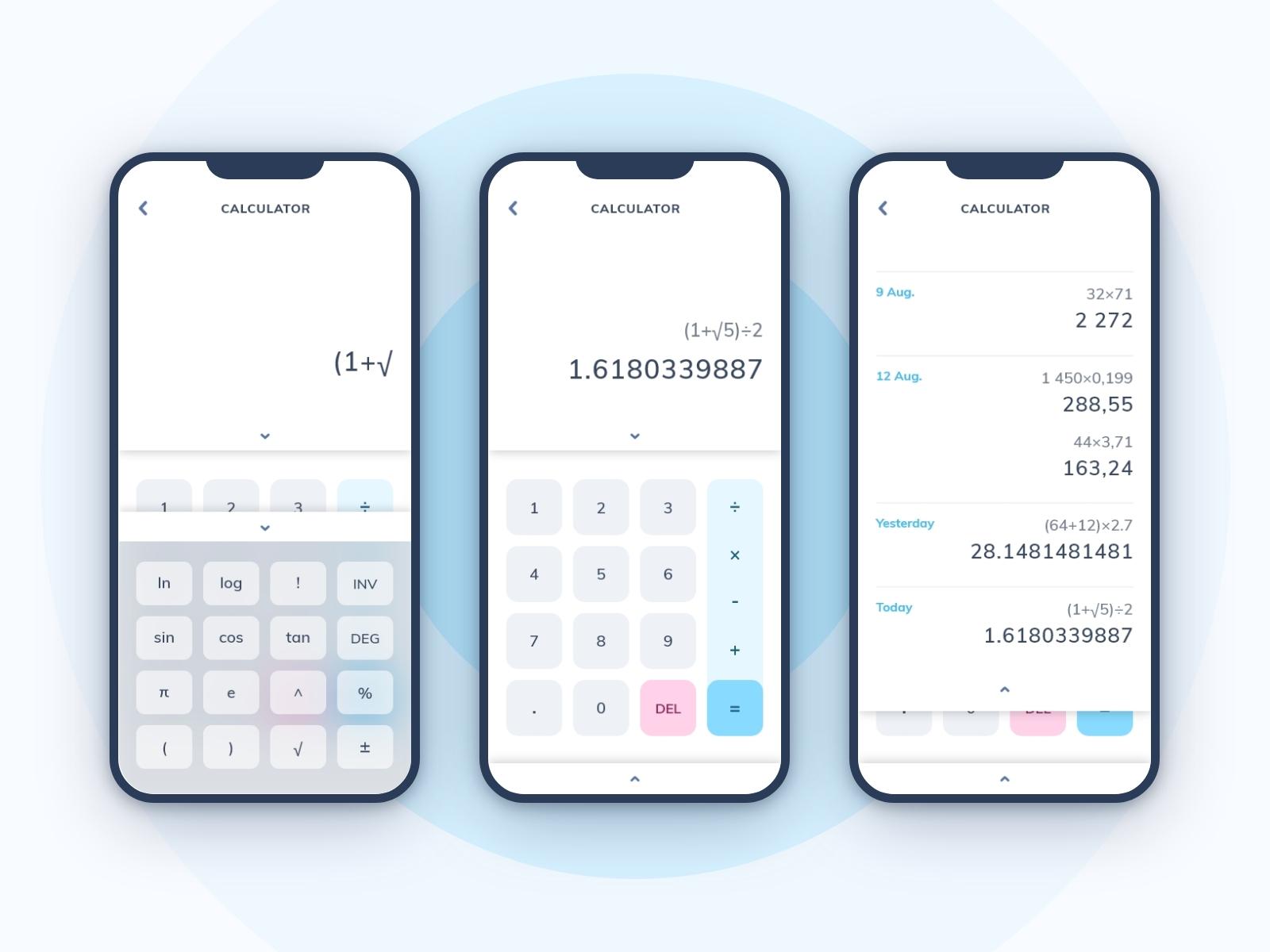 04 - Calculator - Dribbble
