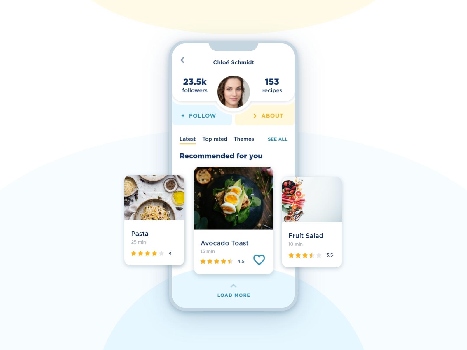 06 - User Profile - Dribbble